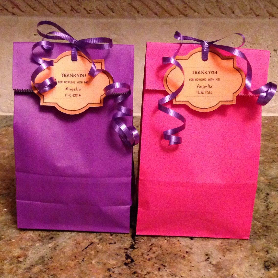 Cute Easy Affordable Treat Bags For 10 Year Old Girls Birthday Party Treats