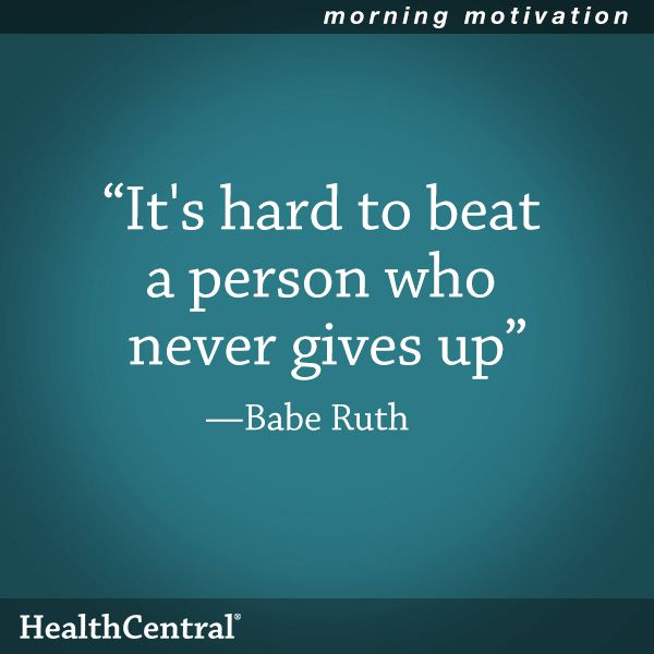 """Motivational Quotes Time: A Good Quote For Hard Times: """"It's Hard To Beat A Person"""