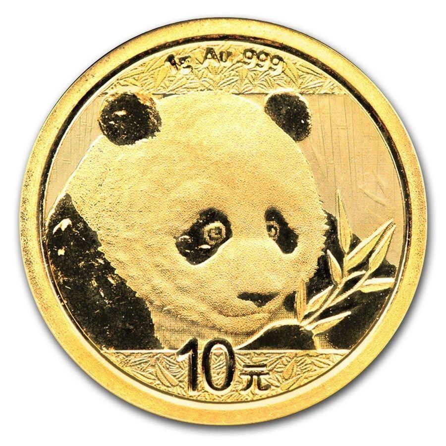 Chine 10 Yuan Panda Or 1 Gramme 2017 China 1 Gram Gold Coin Bu Sealed Goldcoins Gold Coins Coins Gold Stock