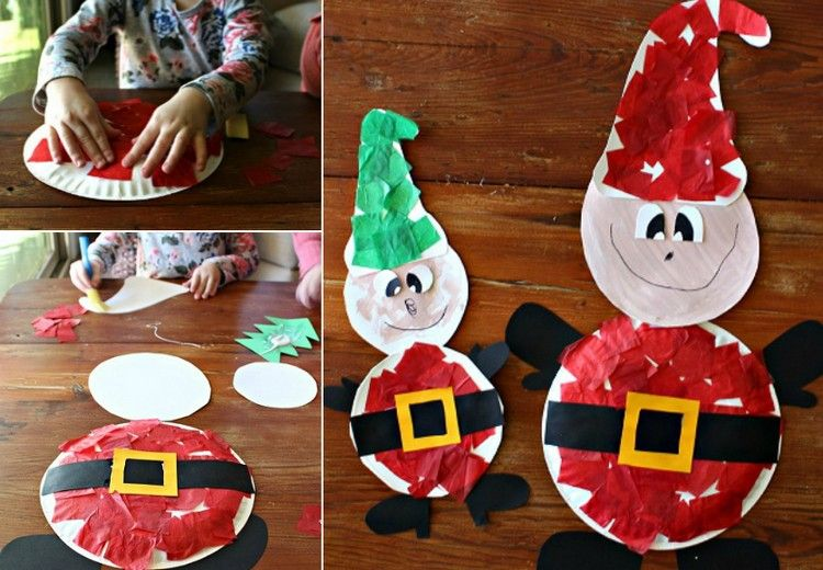 lustige wichtel basteln mit kindern weihnachten mit. Black Bedroom Furniture Sets. Home Design Ideas