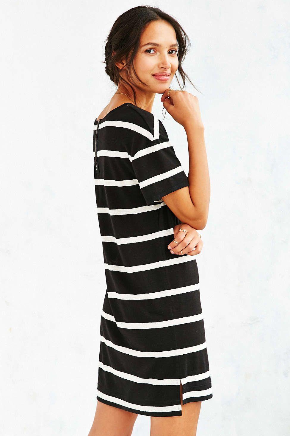 Bdg Estelle Boyfriend T Shirt Dress Pieceswearables Shirt