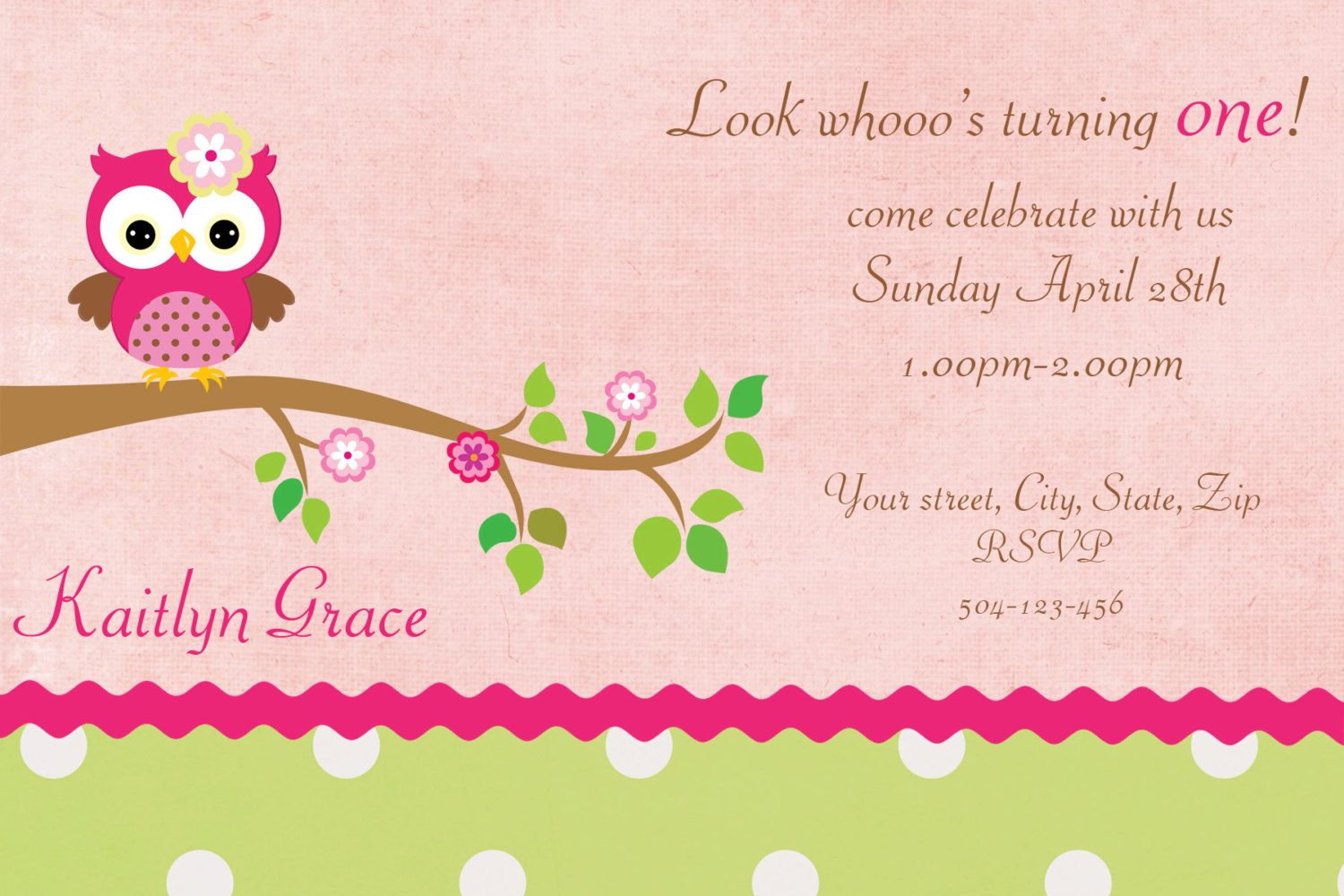 Il_fullxfull invitation templates | Party Ideas | Pinterest | Owl ...