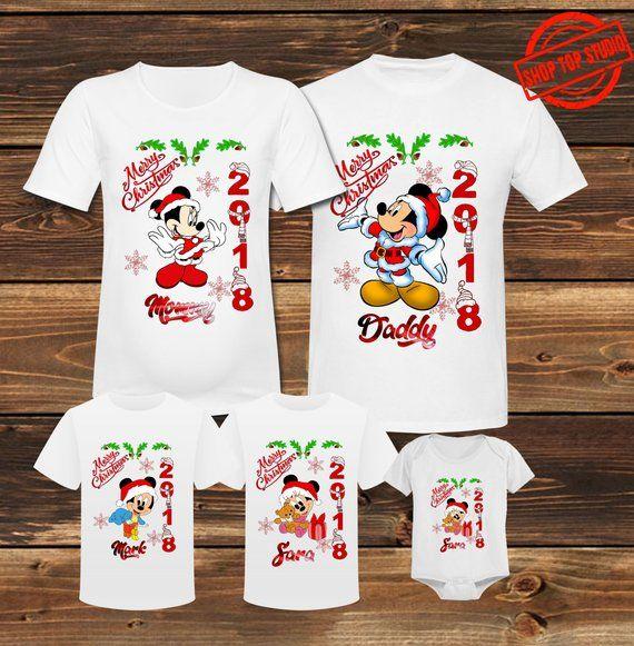 Mickey Mouse Christmas Family Shirts Disney Christmas Shirts Disney