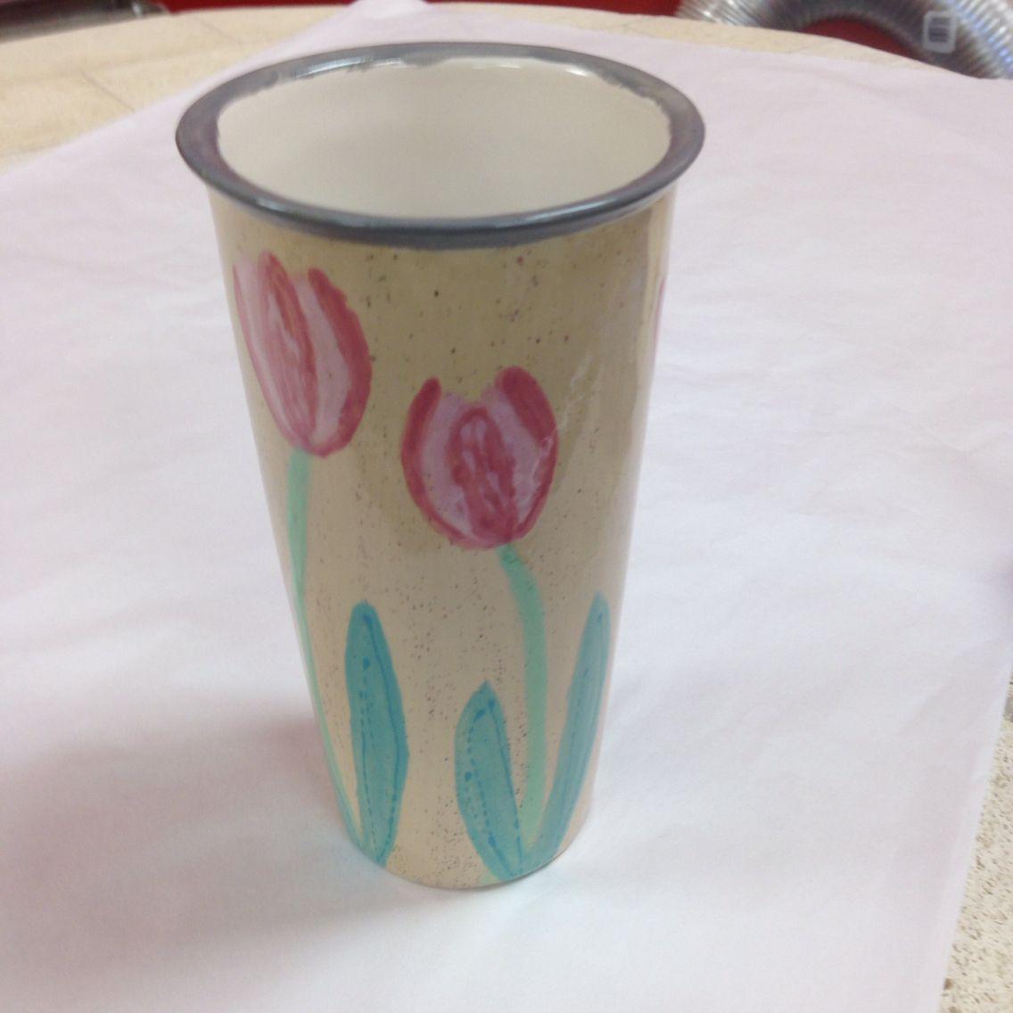 Tulip travel mug.