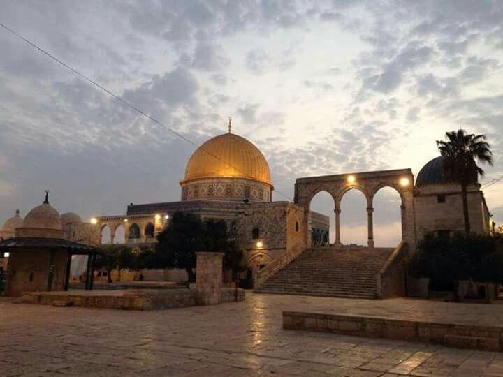 صور شروق الشمس من ساحات المسجد الأقصى صباح اليوم عدسة سامر صيام Jerusalem Mosque Masjid