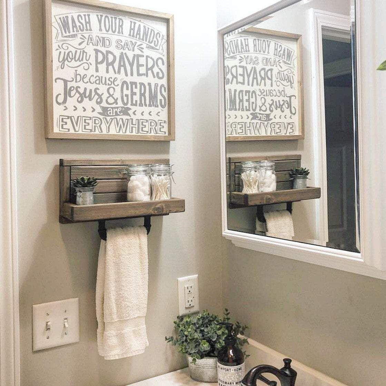 Pin On Bathroom Bathroom hand towel ideas