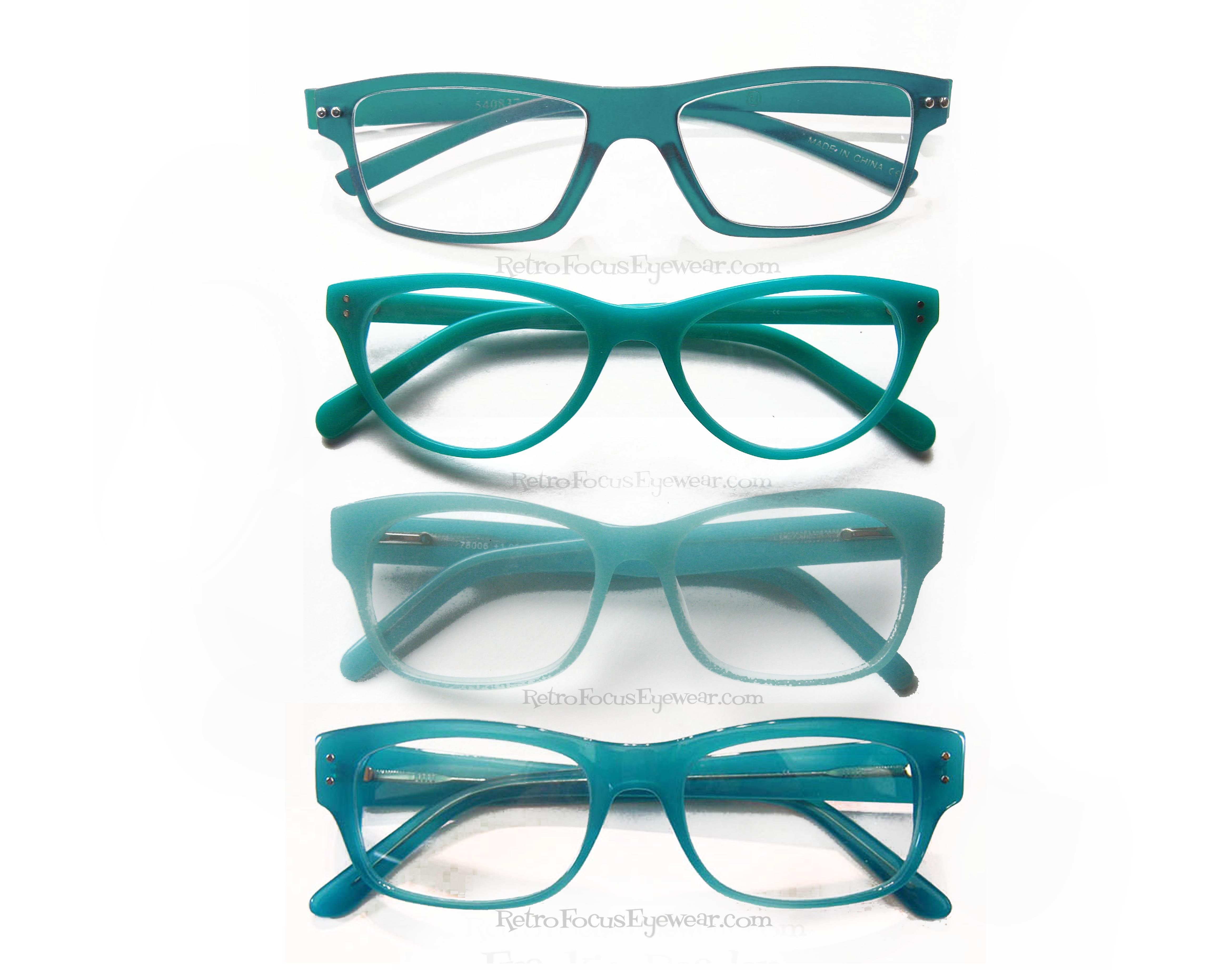 all about aqua turquoise eyewear trending for 2014