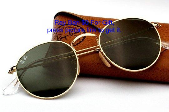 Óculos De Sol Retrô Rayban Redondo Original Ray Ban - R  249,90 no  MercadoLivre 132d948d40