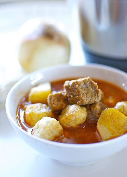 Gulash de ternera, receta de estofado húngaro con Thermomix « Thermomix en el mundo
