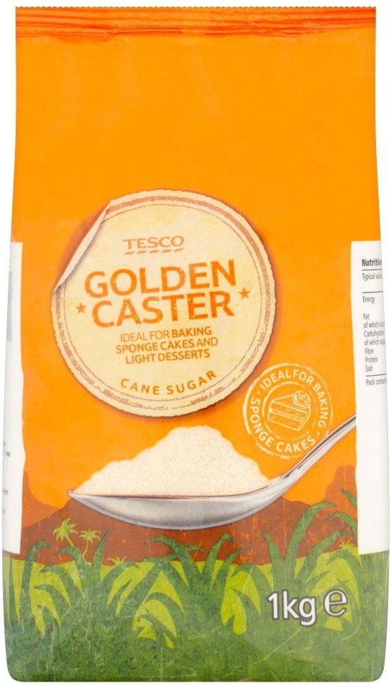 Tesco Unrefined Golden Caster Sugar (1Kg) | Compare Prices, Buy