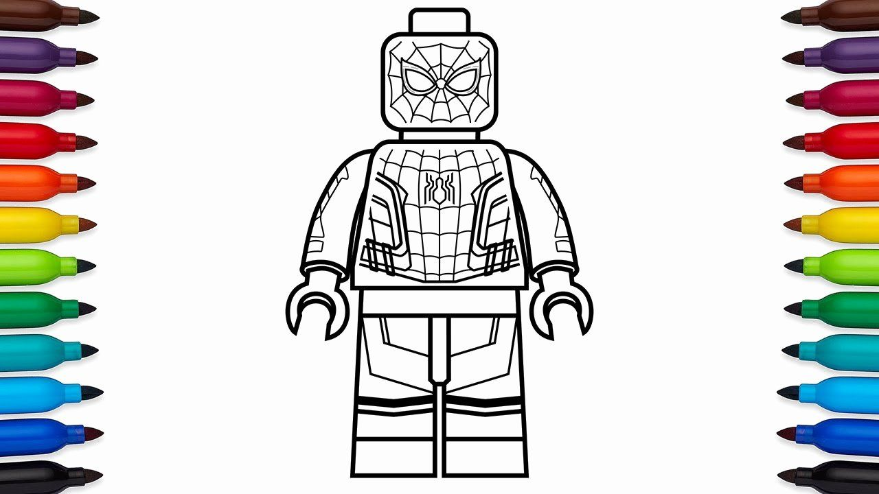 28 Lego Spiderman Coloring Page In 2020 Spiderman Coloring Lego Coloring Pages Halloween Coloring Pages Printable