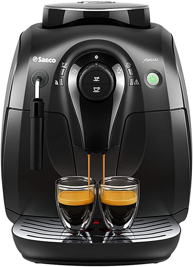 Saeco Hd8645 47 Vapore Automatic Espresso Machine X Small Black Espresso Machine Automatic Espresso Machine Commercial Espresso Machine