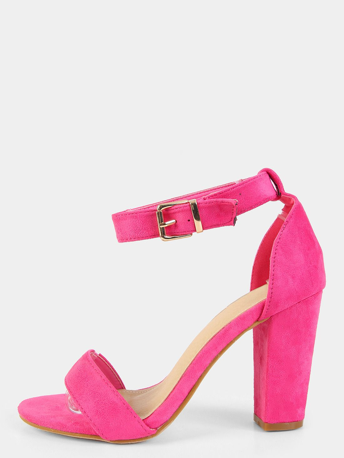 86c3d1cdcb8c Stacked heel and hot pink. These are pretty much my ideal shoe right now!