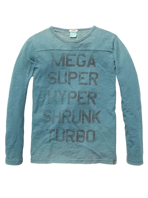 Tee With Big Text Artwork > Kids Clothing > Boys > T-shirts at Scotch Shrunk