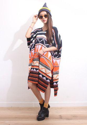 Totem Jacquard Oversized Knit Dress | Drive Store