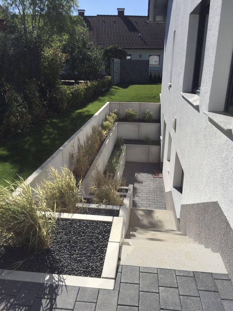 GARTEN UND LANDSCHAFTSBAU | Schody | Pinterest | Basements, Window ...
