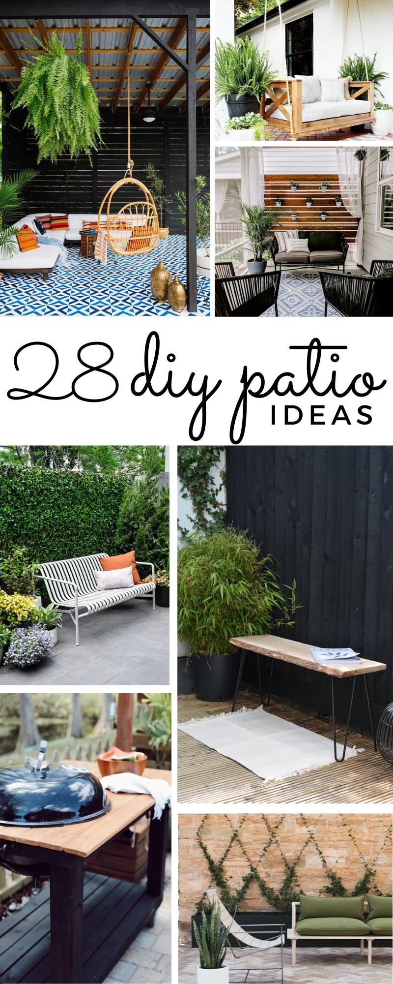 28 easy diy patio ideas to transform