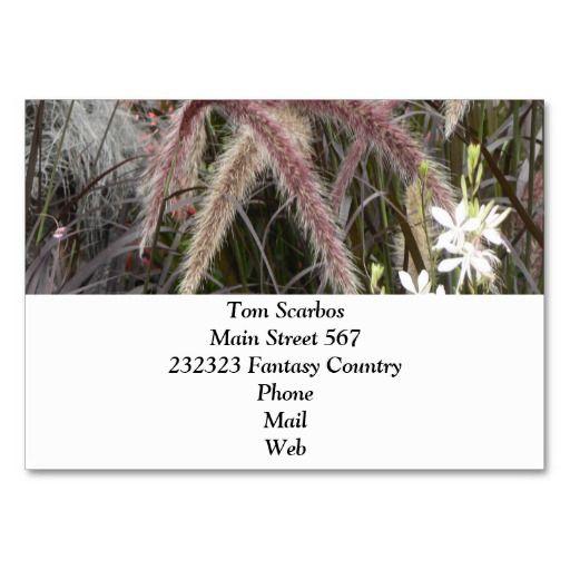 Lovely Garden Pics 04 Business Cards Event Planner