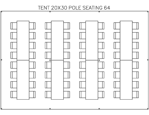Tent 20x30 Pole Backyard Party Seating 64 Guests  sc 1 st  Pinterest & Tent 20x30 Pole Backyard Party Seating 64 Guests | Reception ...