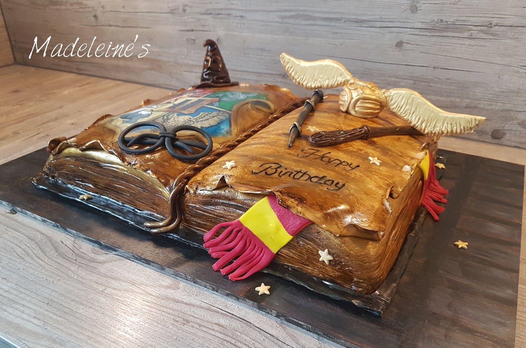 Harry Potter Torte Buch Schnatz Gryffendor Schnatz Harry Potter