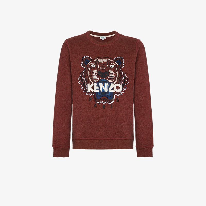 a943f90a Tiger Icon Short-Sleeve T-Shirt, Bordeaux | Kenzo Men | Pinterest ...
