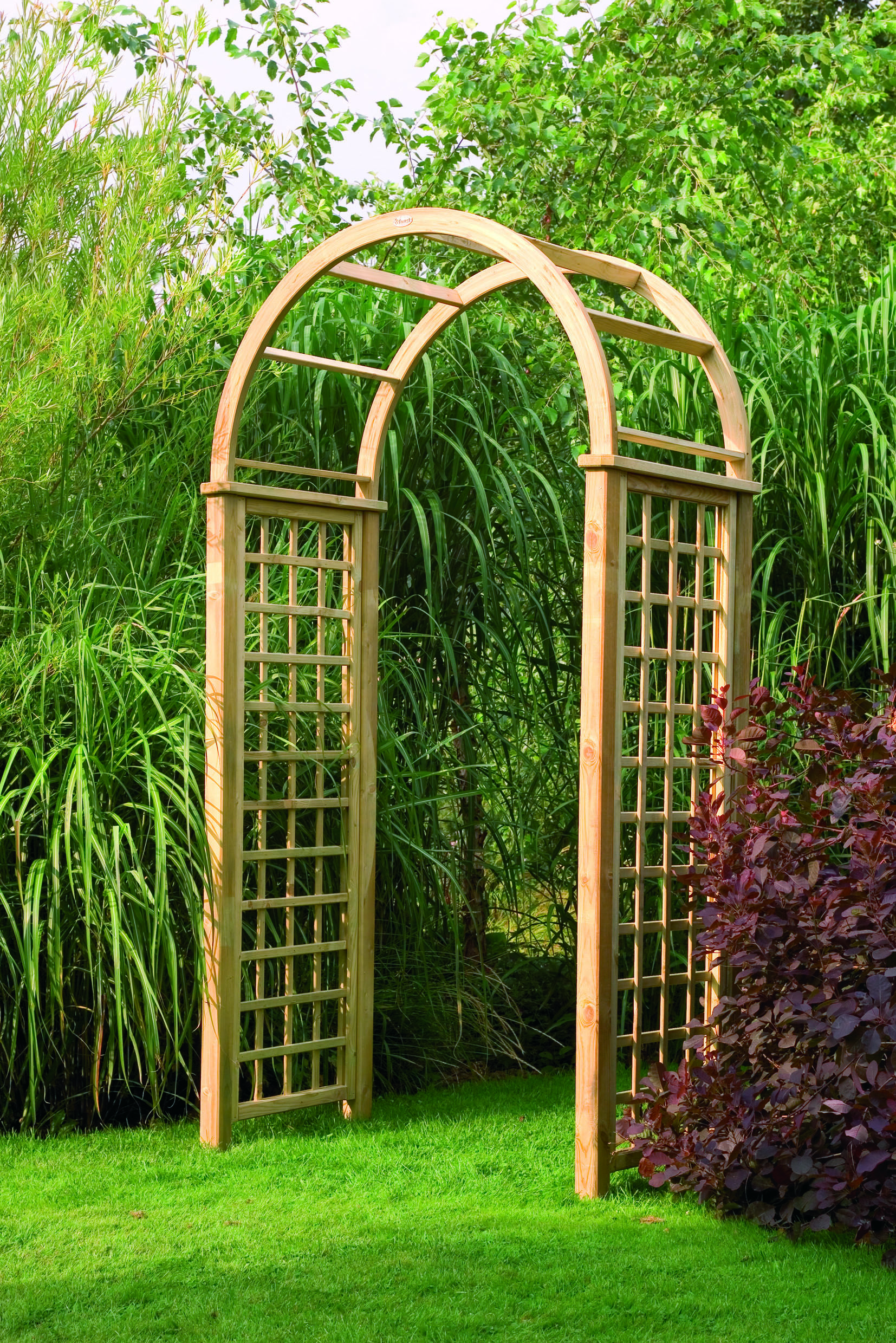 Forest Garden Florence Arch 1420 x 800 x 3010 | Garden arches, Dream ...