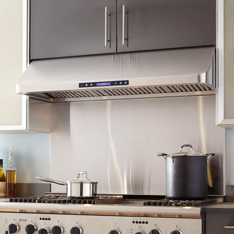 48 Holt Series Stainless Steel Under Cabinet Range Hood 900 Cfm Under Cabinet Range Hoods Modern Range Hood Range Hood