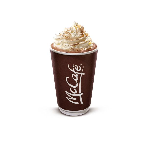 McCafé® Deluxe Hot Chocolate | McDonalds.ca ❤ liked on Polyvore ...