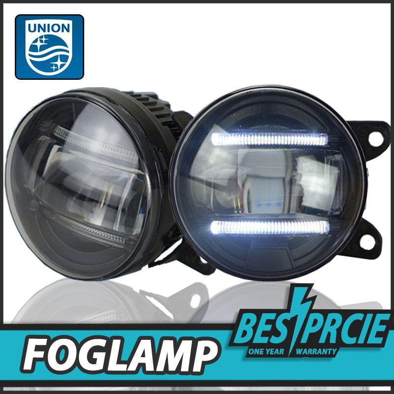 Union Car Styling Led Fog Lamp For Toyota Venza Drl Led Daytime