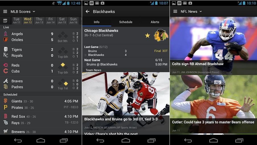 New Yahoo! Sports 4.0 Replaces Sportacular App on Android