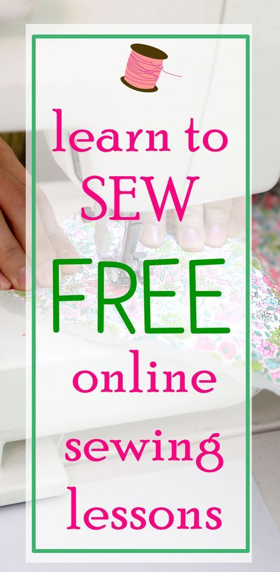 TOP 12 Free Online Basic Sewing Classes for Beginners | Sewing ...