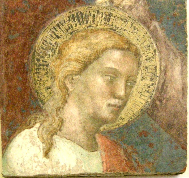 Spinello Aretino - San Tommaso - Frammento di affresco - Collezione Loeser