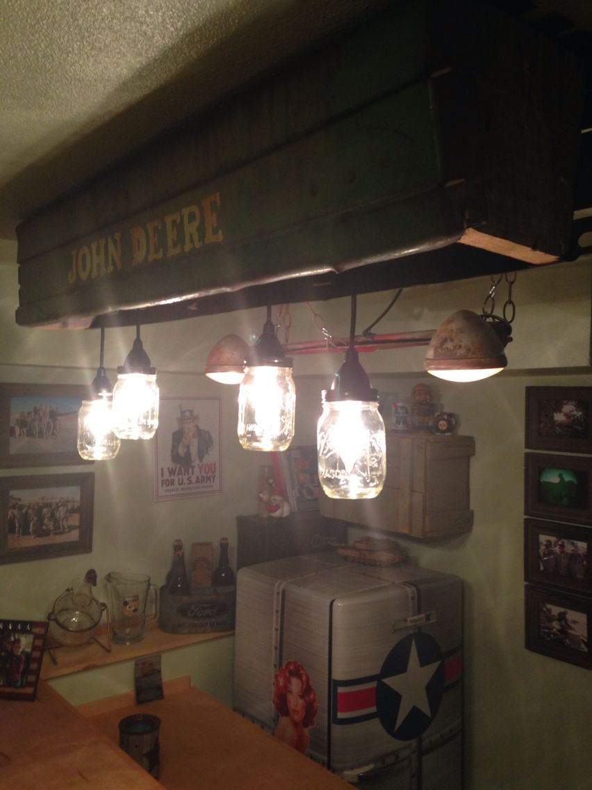 Tractor Light Tractor Lights Ceiling Lights Mason Jar Lamp