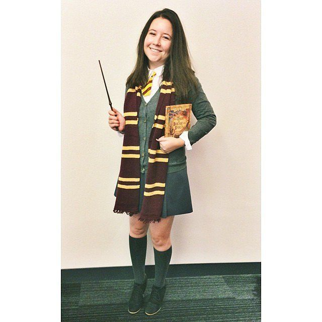 64 diy harry potter halloween costumes for the wizards at heart pinterest thigh high socks - Deguisement hermione granger ...