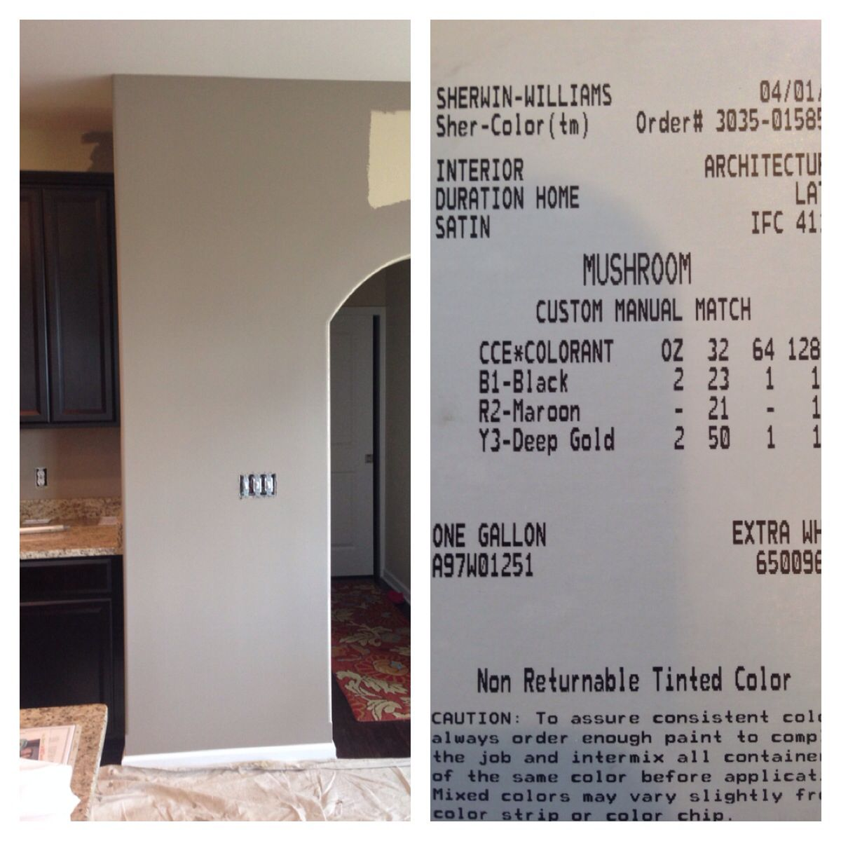 color matched by sherwin williams half gray - Sherwin Williams Color Matching