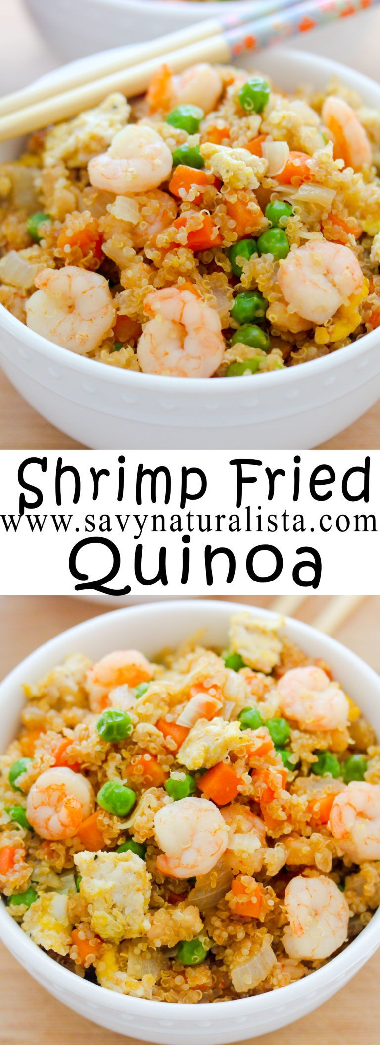 Photo of Shrimp Fried Quinoa – Savvy Naturalista