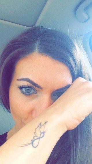 Para Toda La Vida 50 Tatuajes De Infinito Que Adoraras Mariposa Tribal Mariposa Tatuaje Tatuaje Infinito