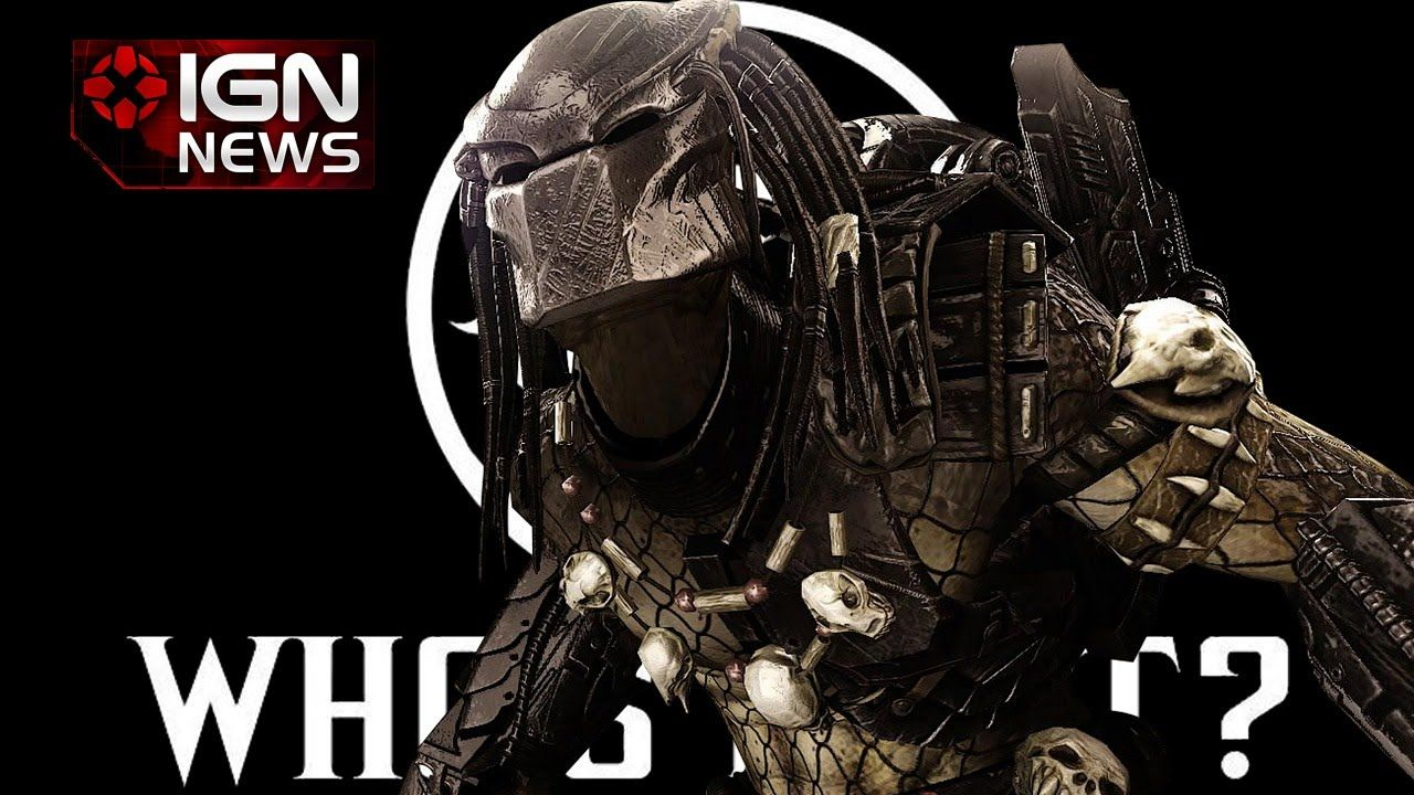 Predator Dlc Character Outed For Mortal Kombat X Ign News