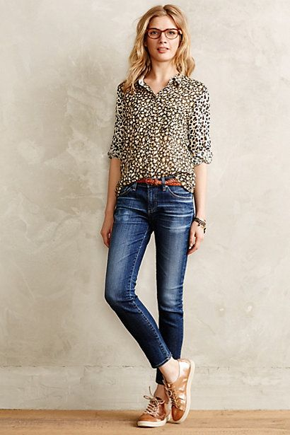 AG Stevie ankle jeans #anthrofav #greigedesign