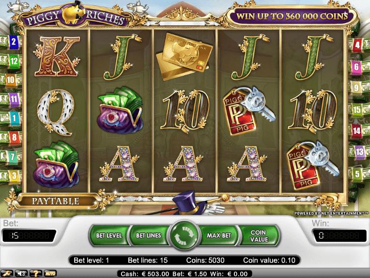 Wir haben sie gerade hinzufügt kostenlos online Automaten Spiel Piggy Riches - http://freeslots77.com/de/piggy-riches/