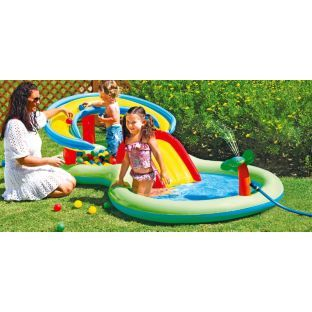 Buy Chad Valley 8 5ft Activity Play Centre Paddling Pool 109l Pools And Paddling Pools Argos Play Centre Summer Fun For Kids Outdoor Toys