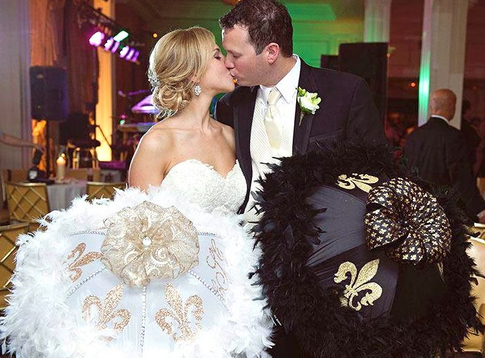 Pin By Andie Kolb On Second Line Umbrellas Umbrella Wedding Wedding Nola Wedding