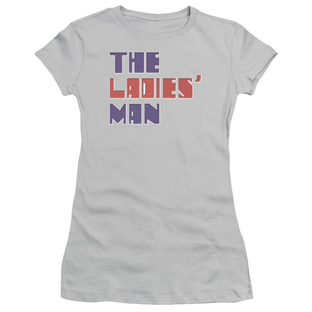 Saturday Night Live: The Ladies Man Logo Junior T-Shirt