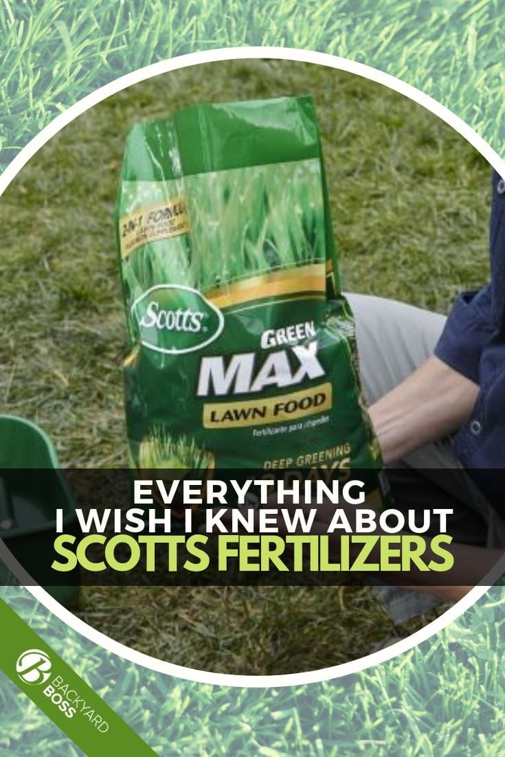 Everything i wish i knew about scotts fertilizers scott
