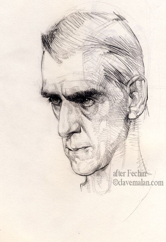 One Of The Great Draftsman Of All Time Sketches Portrait Art