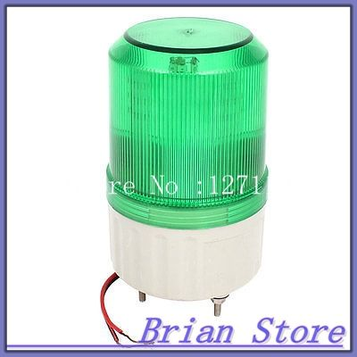 Green Led Flash Industrial Signal Tower Stack Buzzer Indicator Light 90db Dc 24v Green Led Indicator Lights Buzzer
