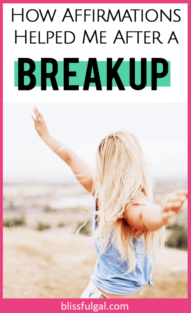 dealing with anxiety after a breakup