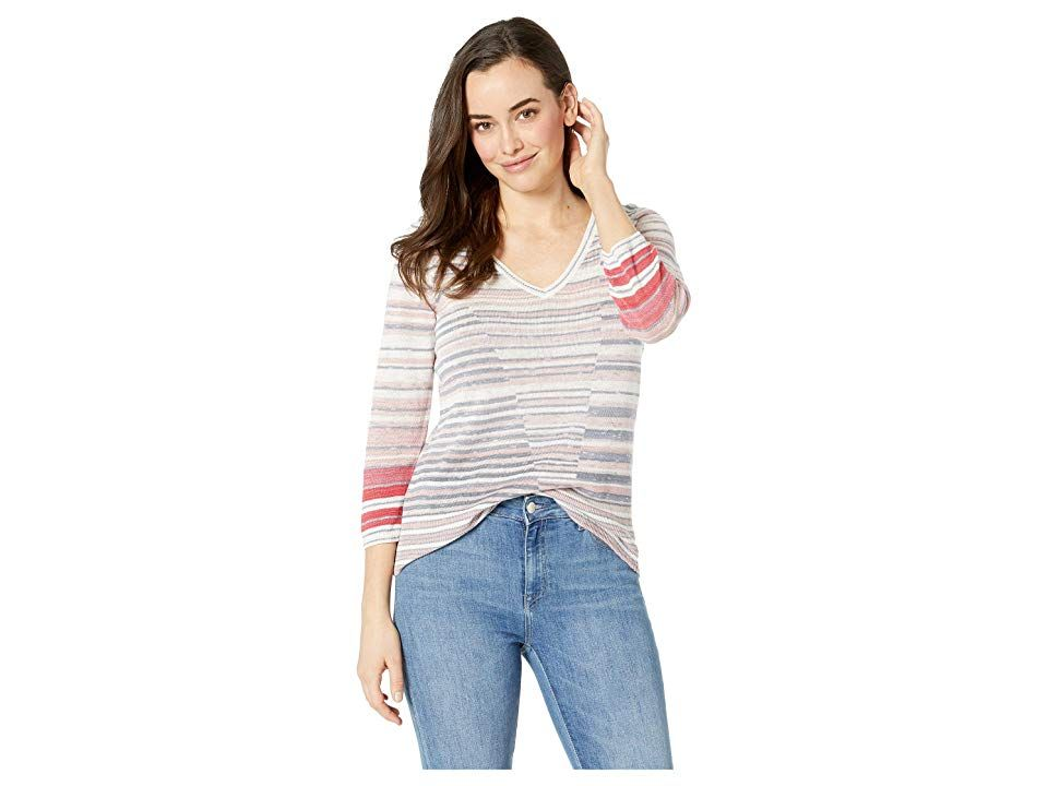 3b8436749d95 NIC+ZOE Skyline Stripe Top Women's Clothing Multi | Products in 2019 ...
