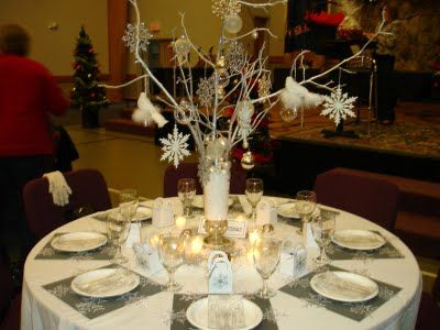 ladies brunch, themed Christmas tables tablescapes Pinterest - christmas table decorations