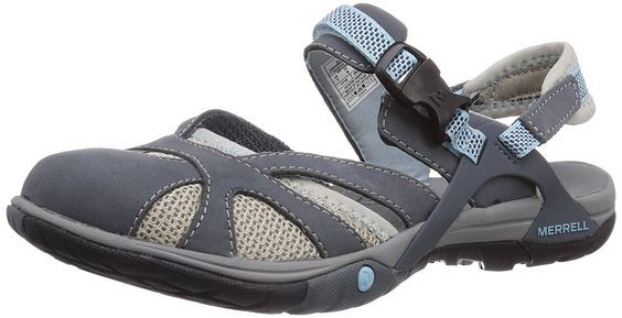 Azura Wrap Ladies Sandal 6 Grey ** You can find out more details at the link of the image.